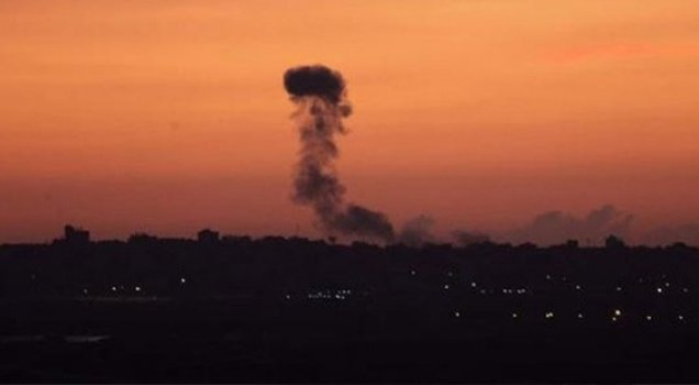 İsrail'den Gazze'ye saldırı: Ölü ve yaralılar var