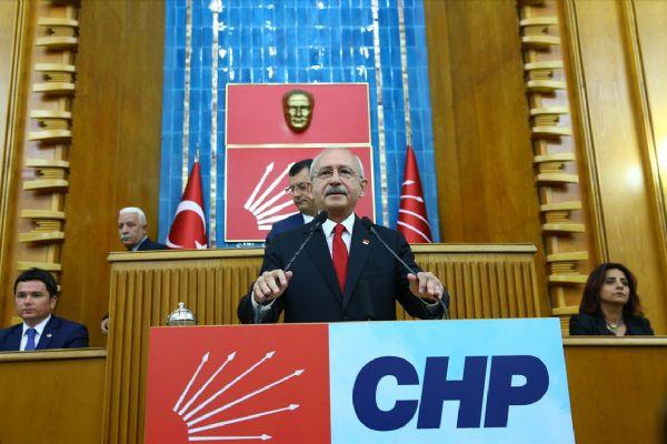 CHP Grupta sürpriz değişiklik