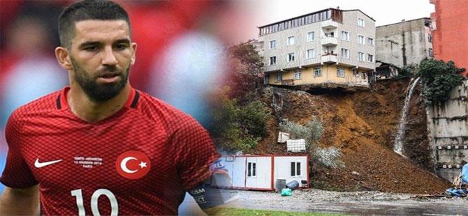 Beyoğlu'ndaki 'çöktüren inşaat' Arda Turan'ın çıktı