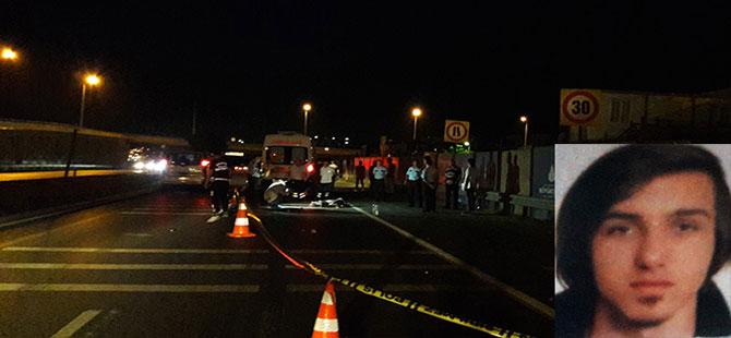Beylikdüzü'nde motosiklet kazası: 1 ölü