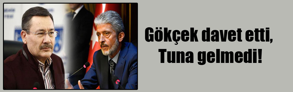 Mustafa Tuna, Gökçek'i ekiverdi! Gökçek'e ŞOK!