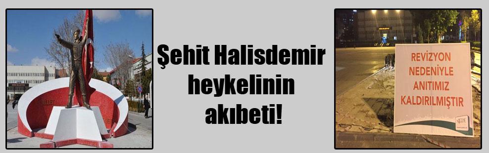 Şehit Halisdemir heykelinin akıbeti!