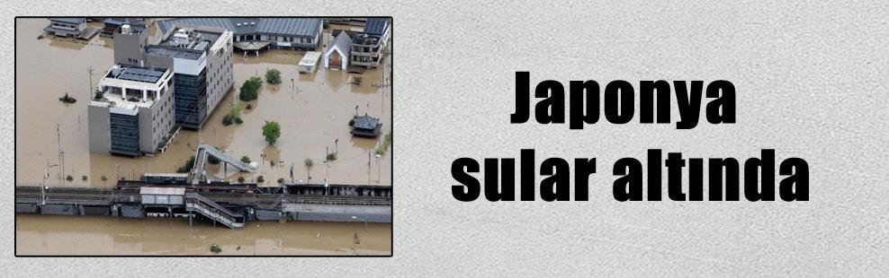 Japonya sular altında