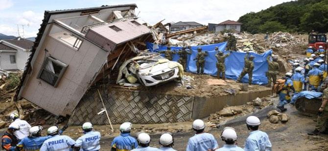 Japonya'da sel felaketi: 100 kişi hayatını kaybetti, 50 kişi kayıp