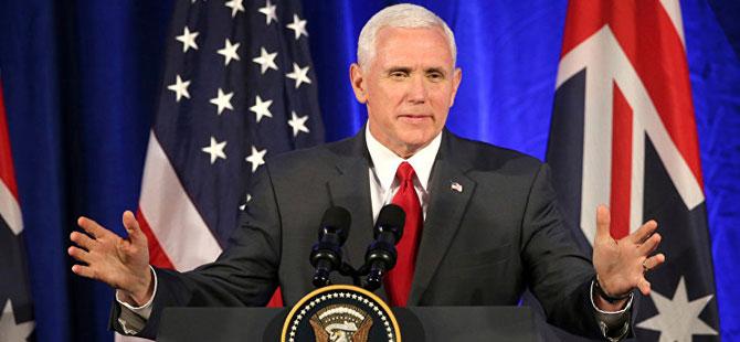 ABD Başkan Yardımcısı Pence'ten Brunson açıklaması!