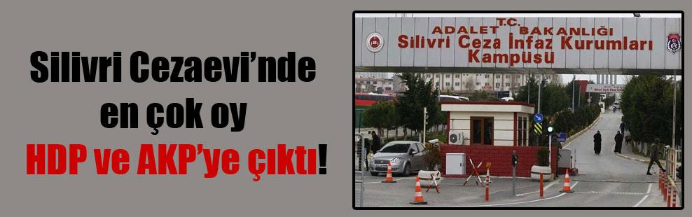 Silivri Cezaevi'nde en çok oy HDP ve AKP'ye çıktı!