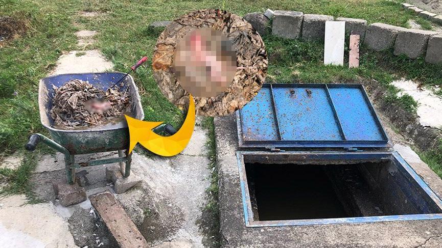 Zonguldak'ta temizlik işçileri kanalizasyonda bebek cesedi buldu