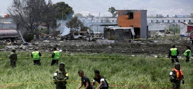 Meksika'da hava fişek deposunda patlama: En az 24 ölü