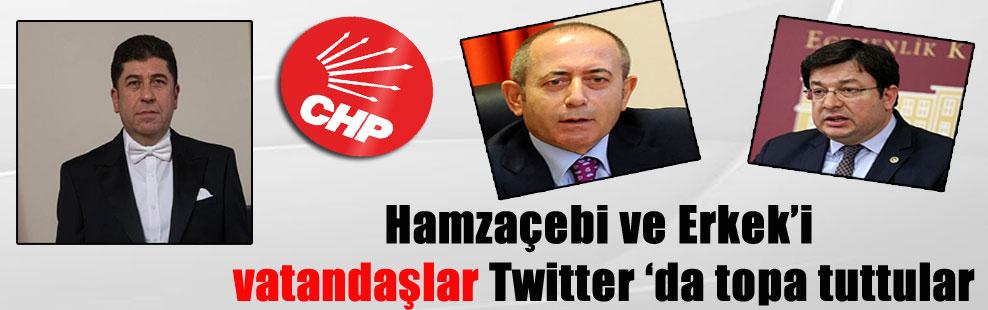 Hamzaçebi ve Erkek'i vatandaşlar Twitter 'da topa tuttular