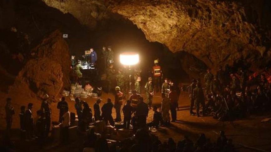 Mağarada kaybolan çocuklar bulundu