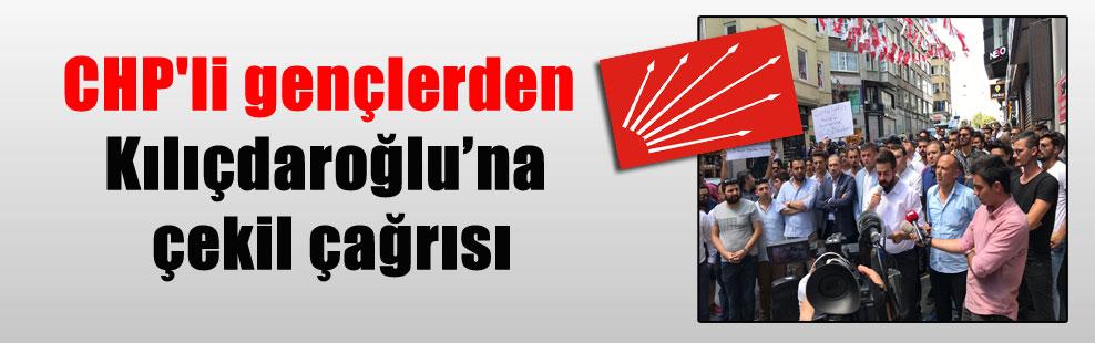 CHP'li gençlerden Kılıçdaroğlu'na çekil çağrısı