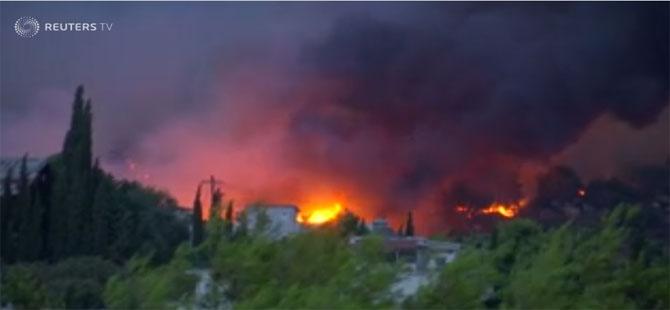 Yunanistan alev alev: Çok sayıda ölü!