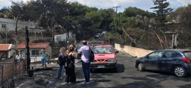 Yunanistan'daki yangının çıkış nedeni belli oldu
