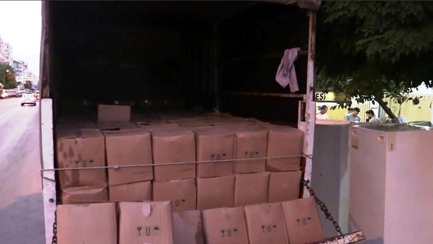 Antalya'da değeri 112 bin TL olan taklit zeytinyağı yakalandı