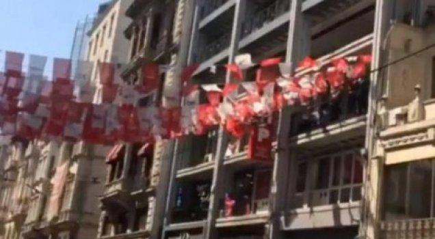 Polis, CHP Beyoğlu İlçe Başkanlığı'na girmek istedi