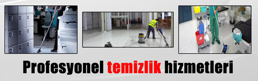 Profesyonel temizlik hizmetleri