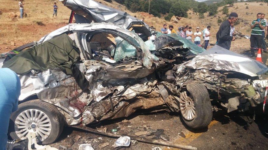 Bingöl'de feci kaza: 5 ölü, 10 yaralı