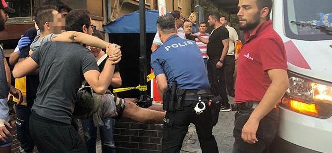Çankaya'da silahlı saldırı: 2 yaralı