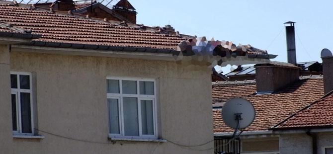 Çatıdan düşen kişi omurilik ezilmesinden hayatını kaybetti