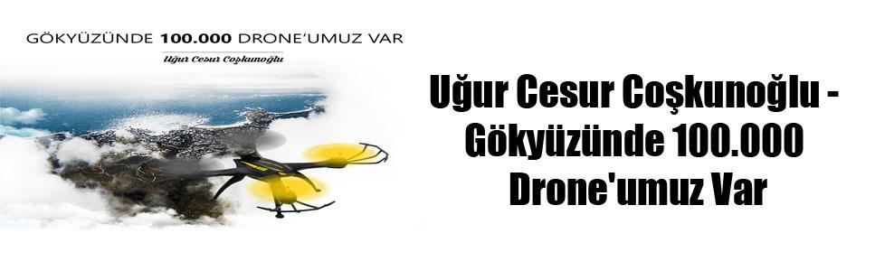 Uğur Cesur Coşkunoğlu – Gökyüzünde 100.000 Drone'umuz Var