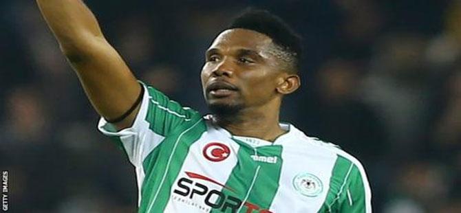 Katar'a transfer olan Samuel Eto'o'dan Türkiye'ye veda mesajı