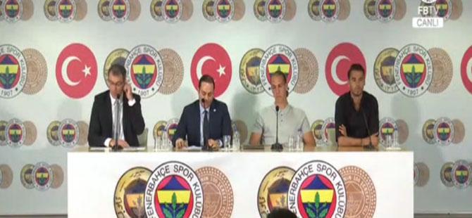 Fenerbahçe'de Michael Frey ve Diego Reyes imzayı attı!
