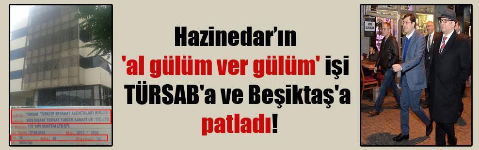 Hazinedar'ın 'al gülüm ver gülüm' işi TÜRSAB'a ve Beşiktaş'a patladı!