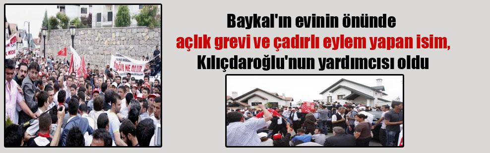 Baykal'ın evinin önünde açlık grevi ve çadırlı eylem yapan isim, Kılıçdaroğlu'nun yardımcısı oldu