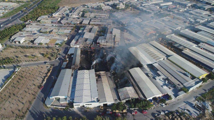 Konya'da büyük yangın! 10 milyon liralık zarar