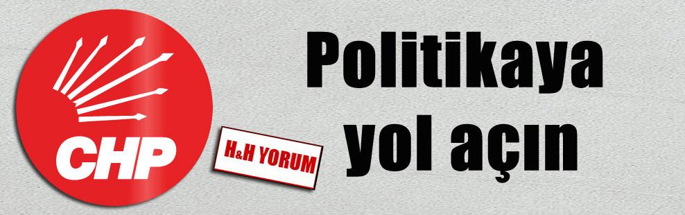 Politikaya yol açın