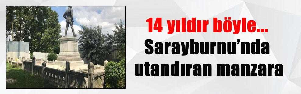 14 yıldır böyle… Sarayburnu'nda utandıran manzara