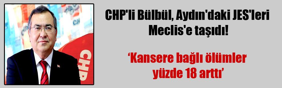CHP'li Bülbül, Aydın'daki JES'leri Meclis'e taşıdı!