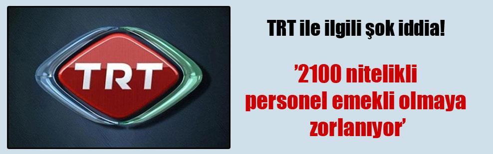 TRT ile ilgili şok iddia!