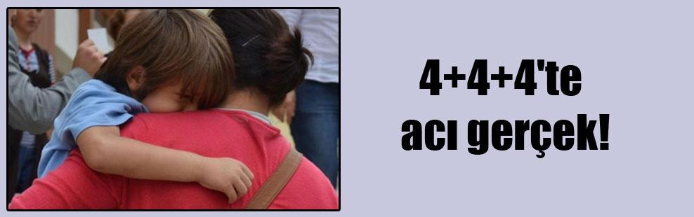 4+4+4'te acı gerçek!