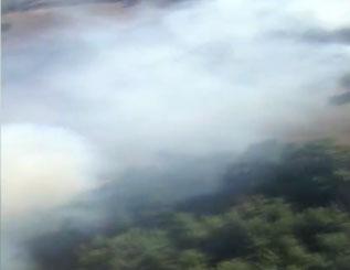 Balıkesir'de ormana sıçrayan yangın kontrol altına alındı