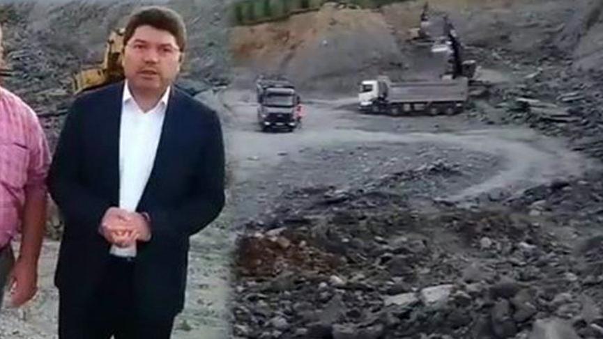 AKP'li vekilin incelediği hastane inşaatında bir işçi hayatını kaybetti
