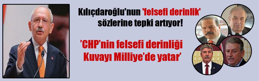Kılıçdaroğlu'nun 'felsefi derinlik' sözlerine tepki artıyor!