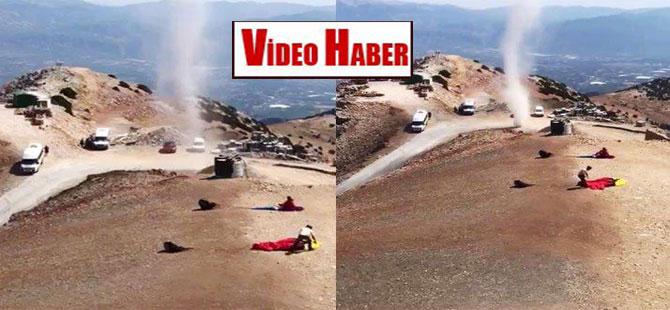 Fethiye'de 'kum şeytanı' ortaya çıktı!