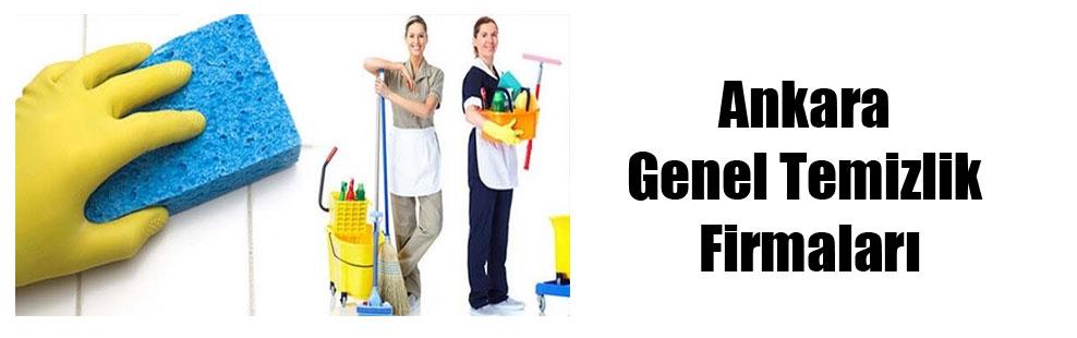 Ankara Genel Temizlik Firmaları
