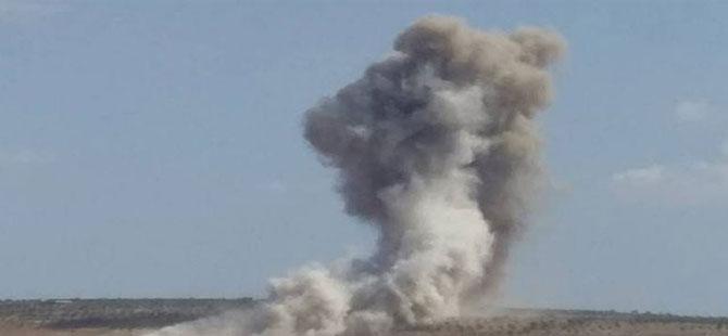Rus uçakları İdlib'in güneyine hava saldırısı düzenledi