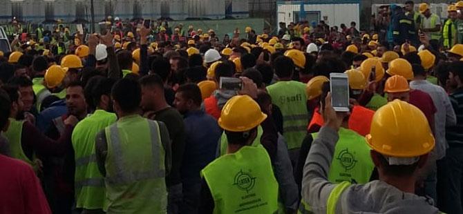 Eylem yapan işçilere operasyon! Çok sayıda gözaltı var
