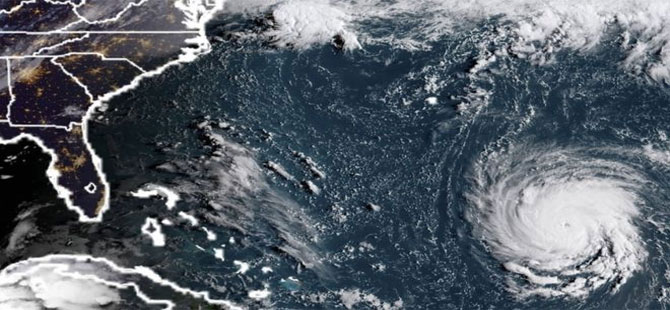 Florence Kasırgası: ABD'li yetkililerden 'Şiddeti düşse de felaket kapıda' uyarısı