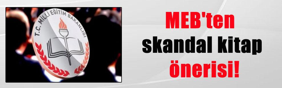 MEB'ten skandal kitap önerisi!