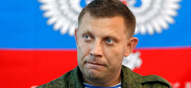 Donetsk lideri Zaharçenko'ya suikast!