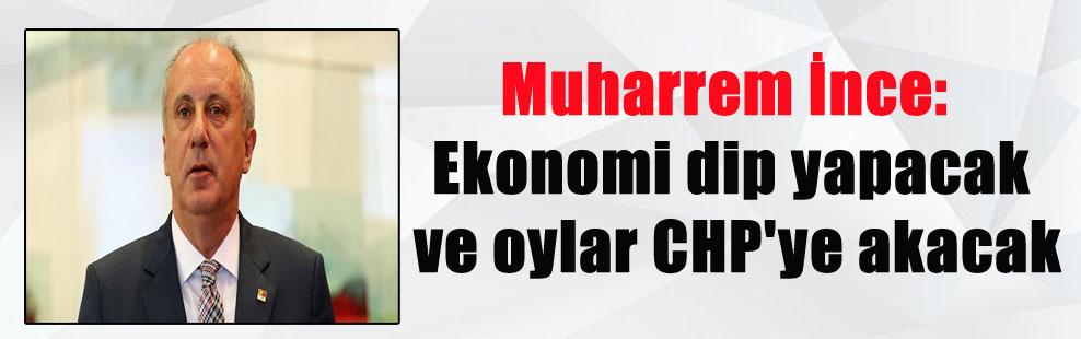 Muharrem İnce: Ekonomi dip yapacak ve oylar CHP'ye akacak