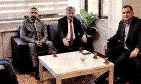 Alper Taşdelen'den Cumhuriyet yeni yönetimine ziyaret