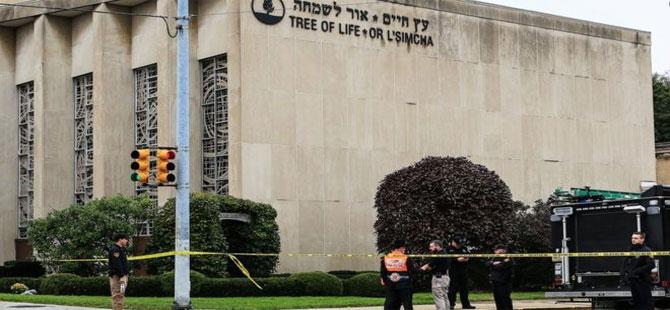 ABD'nin Pittsburgh şehrindeki sinagog saldırısında 11 kişi öldü