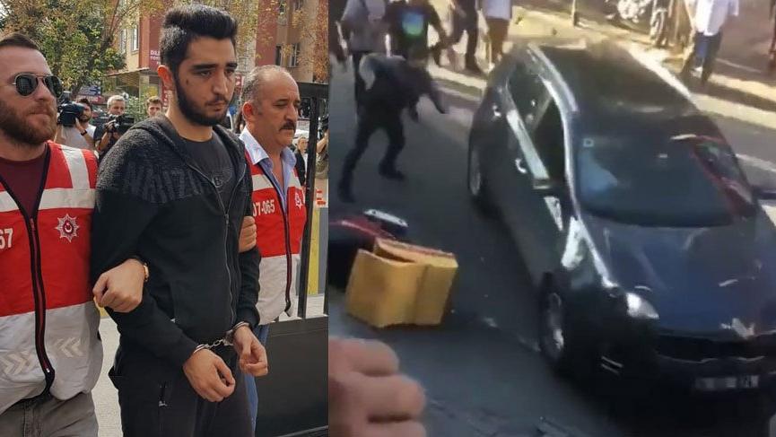 Bakırköy saldırganı adliyeye sevk edildi