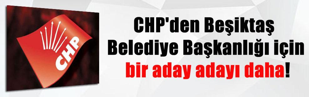 CHP'den Beşiktaş Belediye Başkanlığı için bir aday adayı daha!