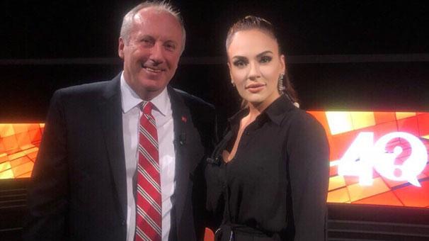 Muharrem İnce bu akşam CNN Türk'de Buket Aydın'ın sorularını yanıtlayacak